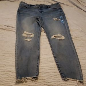 Nwt american eagle 20 long high-rise jegging